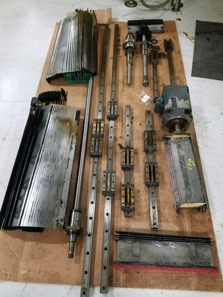 machine way cover repair